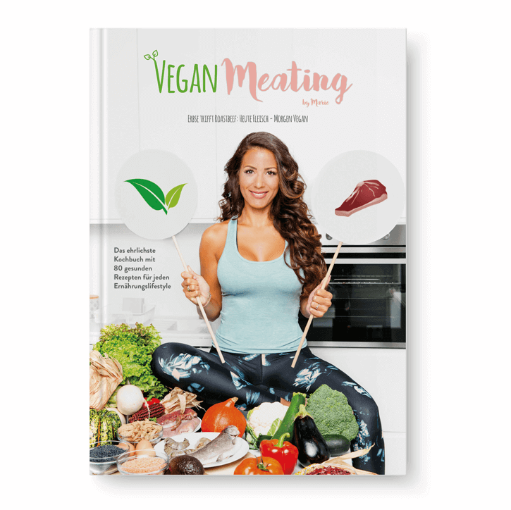 VeganMeating by Marie - DAS BUCH