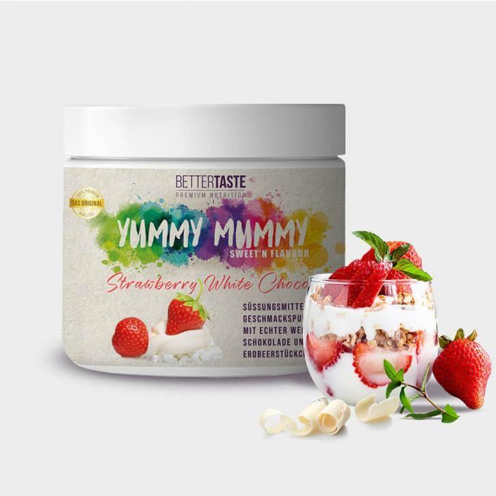 YUMMY MUMMY Sweet'n Flavour - STRAWBERRY WHITE CHOCO