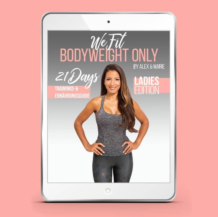 WeFit Bodyweight Only – DAS EBOOK LADIES EDITION