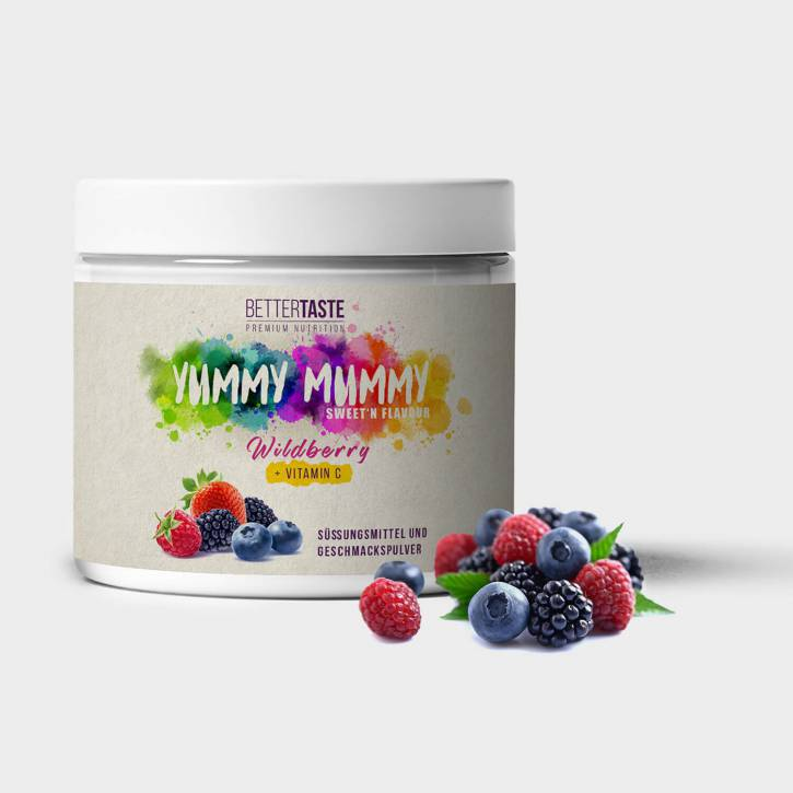 YUMMY MUMMY Sweet'n Flavour - WILDBERRY