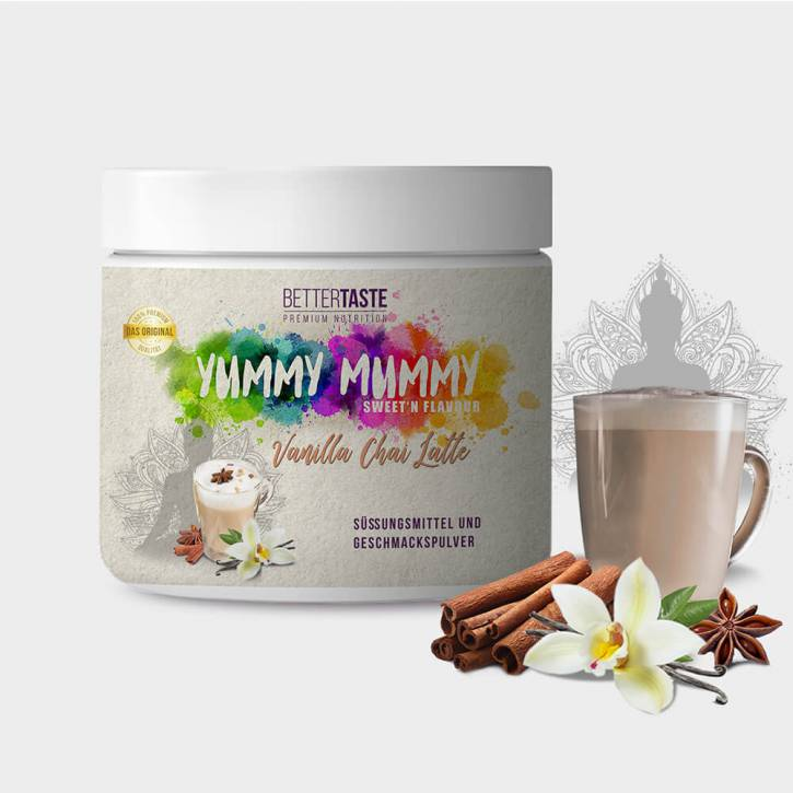 YUMMY MUMMY Sweet'n Flavour – VANILLA CHAI LATTE