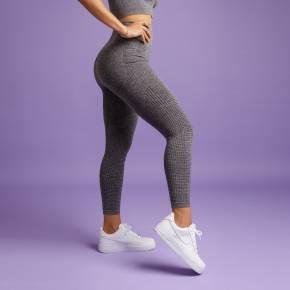 Heart & Motion - Seamless Basic Pants Long STONE GREY