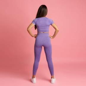 Heart & Motion - Seamless Basic Pants Long LILAC